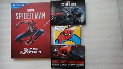 Marvel's Spider-Man PS4 Daily Bugle, Spider-Man Artbook, Post Cards Promo Press