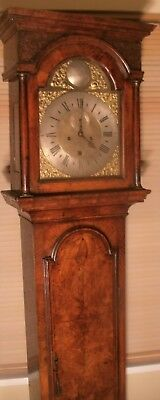 "Antique  Walnut  "" London ""   Longcase / Grandfather Clock"