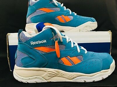 f4cf546ecee90 REEBOK PUMP D Time Dee Brown Jacksonville. Miami Dolphins Size 10 ...