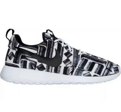 new arrival a64d3 70492 New Nike Roshe One Print Black White 844958-100 NEW Women s Shoes Size 8.5