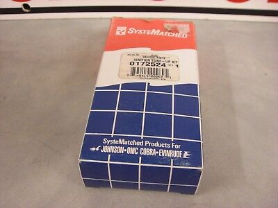 NEW OMC  EVINRUDE/JOHNSON  #0172524 Dual Point Tune-up Kit  New/old Stock 3-F-3