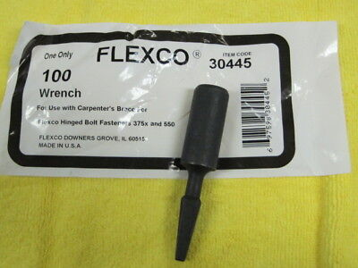 Flexco 30445 100 Wrench  *New In Original Package*