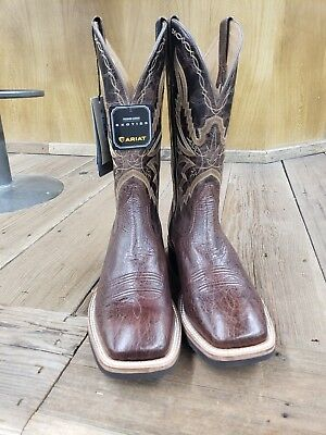 ec6a9bb6567 Ariat Cobalt Quantum Crepe Smooth Belly Ostrich Style 10021720 Size 9.5 D