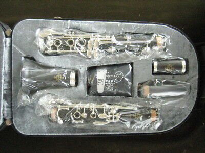 NEW BUFFET-CRAMPON MODEL E-12F WOOD Bb CLARINET with WARRANTY!