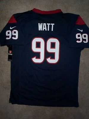 IRREGULAR  Houston Texans JJ WATT nfl NIKE Jersey Youth Kids Boys (xl) 85a7e5754