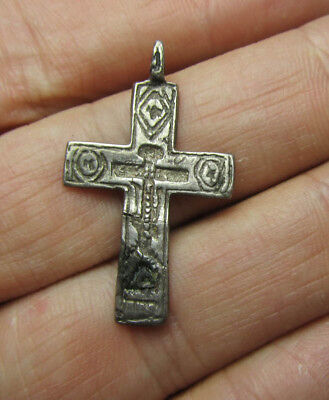 Silver cross 17-18th century  Metal detector finds №464 100% original