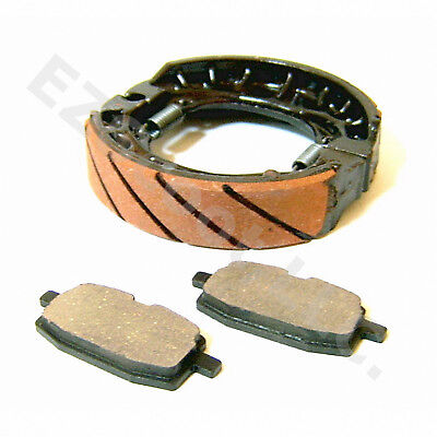 Performance Brake Drum Pad Set 105Mm 139Qmb Gy6 Scooter Moped Vip Znen Wolf Bms