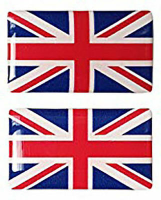 Union Jack Domed Sticker Flag UJ Domed Sticker FlagSticker Car Decal 50x25mm