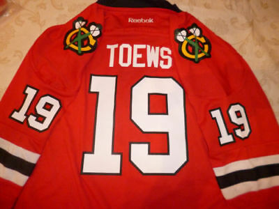 a9abe3666  70NEW Chicago Blackhawks jersey jonathan Toews youth BOYS L xl   GIRLS med  red