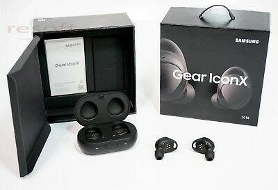 Samsung Gear IconX (2018 Edition) Wireless Bluetooth Earbuds IconX SM-R140 Black