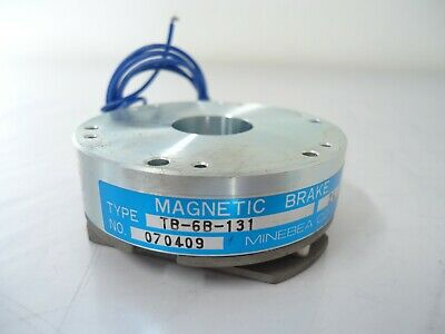 NEW MINEBEA  TB-6B-131 Magnetic Brake 24V 070409 EXCELLENT DEAL!!! ;)
