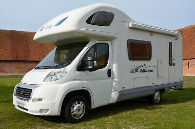 Holiday motorhome hire Ace Milano - 5 berth - Luxury you can afford
