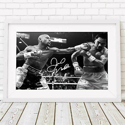 FREE DELIVERY Signed Photo A5 Mounted Print JOE CALZAGHE