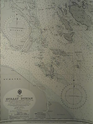 CM3948 Found in a treasure chest! Vintage marine chart China Sea