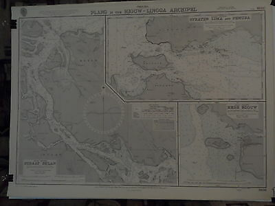 CM3938 Found in a treasure chest! Vintage marine chart China sea