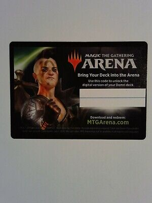 Domri City Smasher Planeswalker Deck Arena Code Email Delivery Only