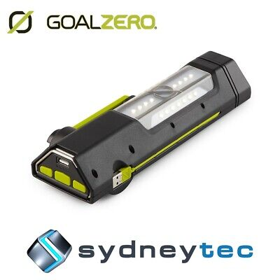 New Goal Zero Torch 250 Solar Powered Flash Light and Power Bank