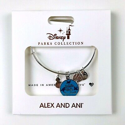 Alex and Ani Disney Parks Collection Whistle While You Work Charm Bracelet