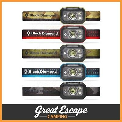 Black Diamond Storm 375 Lumens Waterproof Headlamp