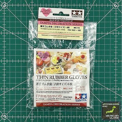 Tamiya Decoration Series Thin Rubber Gloves for Children 3 Pairs F/S FROM JAPAN