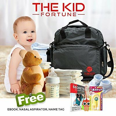 New Kid Fortune Ultimate Maternity Diaper Backpack Bag Waterproof - SOLD OUT