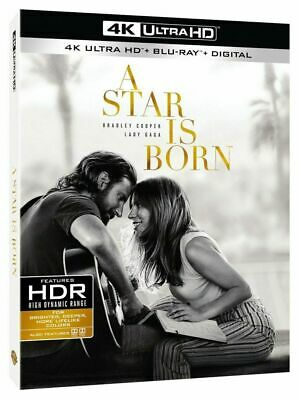 NEW! A Star is Born (4K Ultra HD + Blu-ray + Digital) PRE-SALE SHIPS ON 02/20