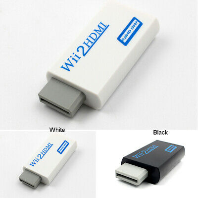 Cable Adapter Pro Upscaling 1080p Input60hz Wii Output Converter Hdmi To Audio