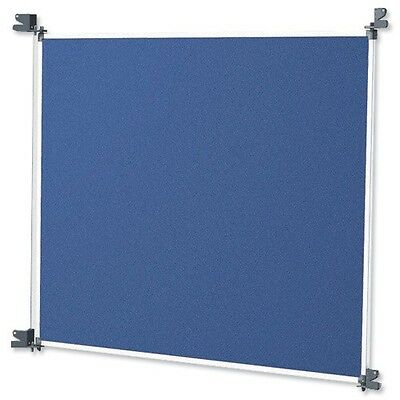 3 x A1 Nobo Modular Display stand System Panel Small blue grey divider wall