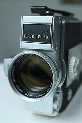 Ilford Elmo c-300 super 8 cine camera