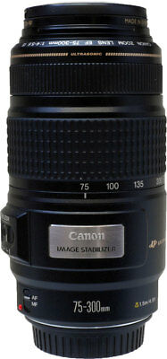 Canon 75-300mm F/4-5.6 EF IS Lens