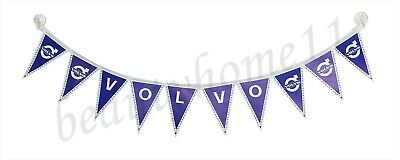 VOLVO Truck Decorating Strip Flags Banner Double Face With Cups