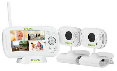 "Uniden BW3102 4.3"" Digital Wireless Baby Video Monitor with Two Cameras"