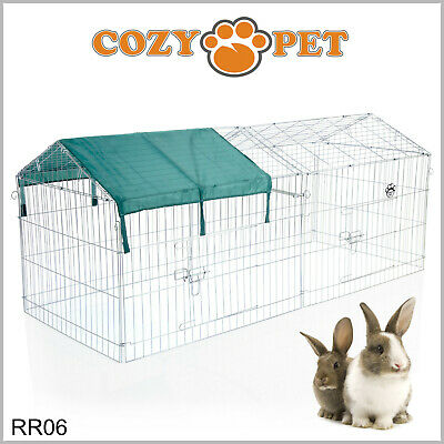 Cozy Pet Rabbit Run Play Pen Guinea Pig Playpen Chicken Puppy Cage Hutch RR06