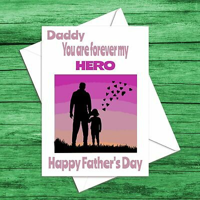 24 Fathers Day Super Dad Daddy Super Hero Dad Gift or Sweet Cone Stickers SD9