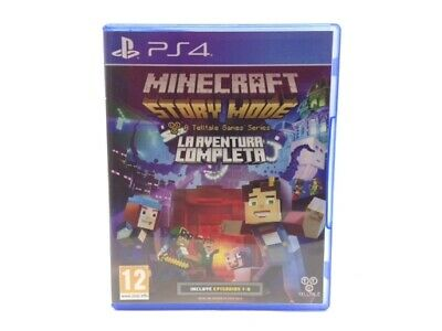 Juego Ps4 Minecraft: Story Mode The Complete Adventure Ps4 4415705
