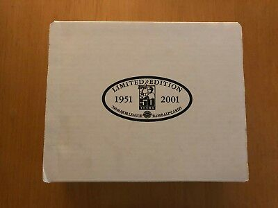 2001 Topps 50th Ann Tiffany Baseball Limited Edition Complete Factory Sealed Set