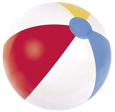 """Panel Beach Ball 16 20 24"""" Inflatable Blowup Pool Holiday Party Swimming Garden"""