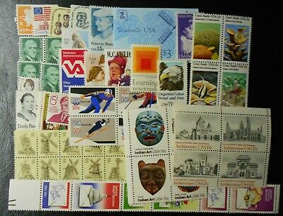 United States Mint Never Hinged Face $12.40 ++, UN Israel and Vatican (Lot DIX)