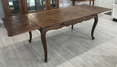 Antique French Dining Table (1900's)    Paid: $4500 Now: $1800