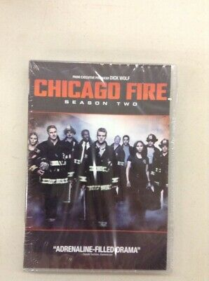 Chicago Fire: Second Season TWO 2(DVD, 2014, 5-Disc Set) BRAND NEW FREE SHIPPING