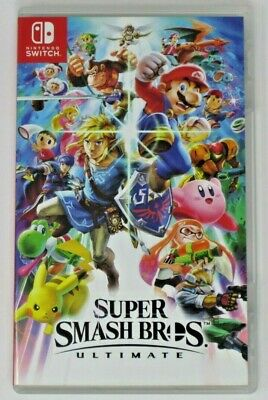 Super Smash Bros.Ultimate European Version For Switch - Very Good - READ