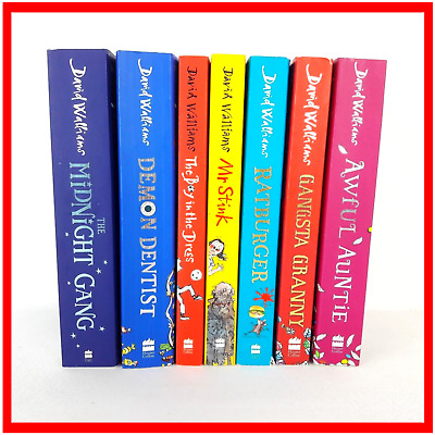 David Walliams 7x Books Bundle Job Lot 7 Paperback Children Book Child Books D2