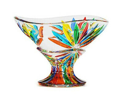 Murano Glass Starburst Bowl, Compote