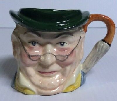 Crown Windsor Staffordshire Character Jug England Pickwick