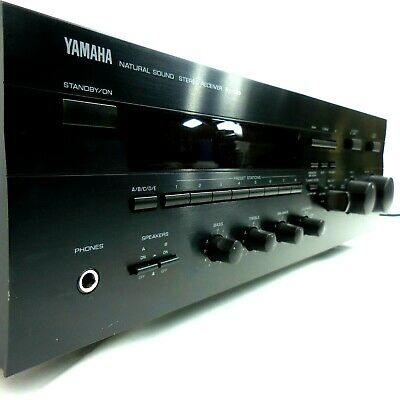 Audiophile Stereo Receiver Yamaha Natural Sound RX-596 - Serviced & Minty Fresh