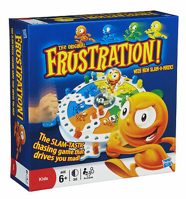 Frustration Game Childrens Kids Family Popping Dice Board Game BRAND NEW