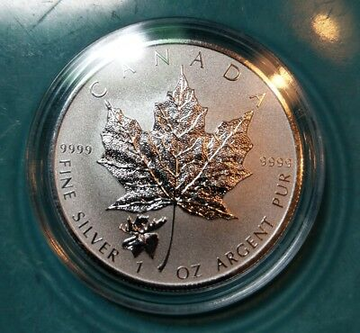 2017 1 oz Silver Canada Maple Moose Privy Coin - Reverse Proof in Capsule