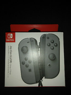 Nintendo Switch JoyCon Controllers GREY R and L - Brand New, SEALED.