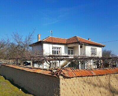 PAY MONTHLY - Sunny South Bulgaria two storey property with land and outbuilding