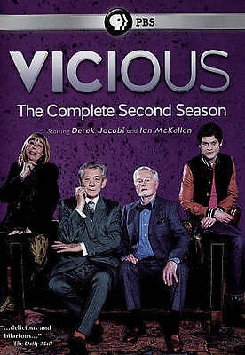 Vicious: The Complete Second Season (DVD, 2015) Sealed Brand New  Free US Ship.